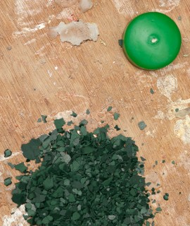 Candle pigment 5 g - Bright green
