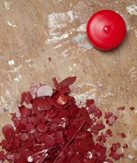 Candle pigment 5 g - Red