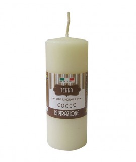 Melrose scented pillar - Coconut