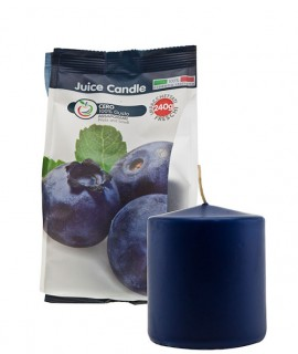Cero profumato alla frutta Juice Candle - Mirtillo