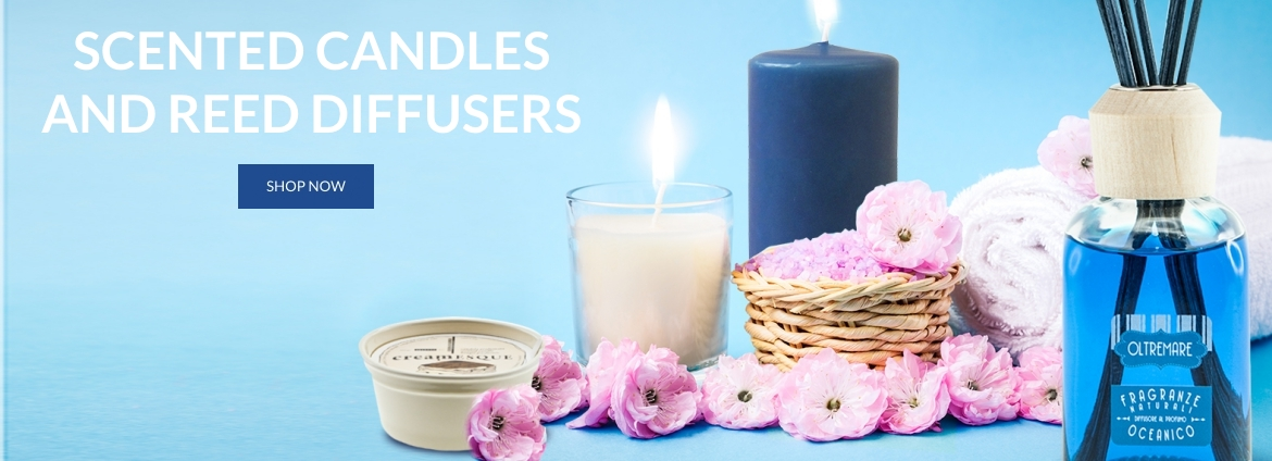 Scented candles and reed ...